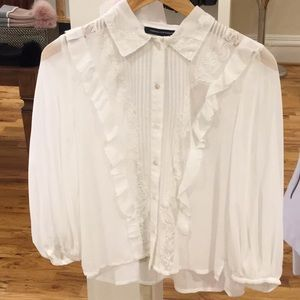 French Connection Amice Blouse